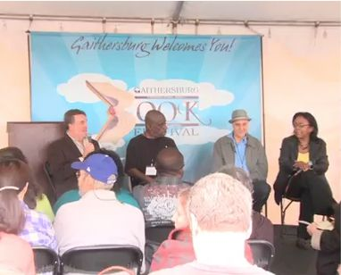 Comedy Writing Panel at the Gaithersburg Book Festival